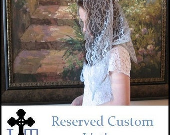 Reserved Custom Listing for Zule