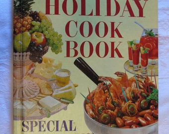 Better Homes and Gardens Holiday Cookbook, 1967, 6th printing