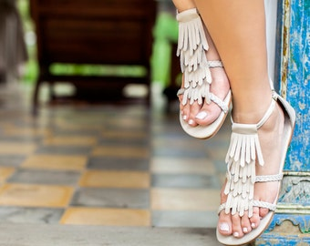 SUMMER LUSH. Wedding sandals / leather sandals / barefoot sandals / women shoes /  leather shoes. sizes 35-43. Available in different colors