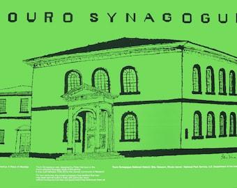 Ben Shahn-Touro Synagogue-1974 Poster