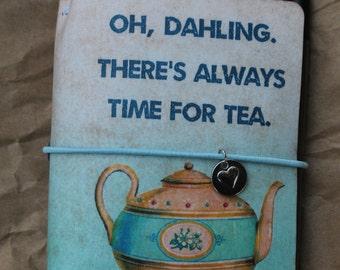 VintagedTea Time Traveler's Notebook