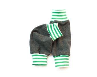 Grey baby legwarmers organic, children leg warmers, newborn leg warmers, jersey leg warmers, baby boy leg warmers, infant leg warmers