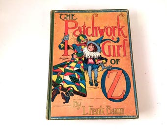 The Patchwork Girl of Oz, L Frank Baum, 1913