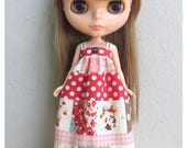 "Neo Blythe Outfit : ""Girl in Red Dress"" (Dress)"