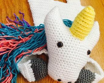 Handmade Unicorn Rag Doll