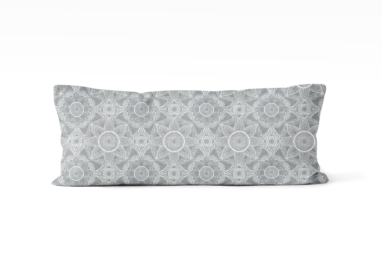 Gray body pillow cover 19x19 inch, farmhouse decor, pillow cover ...