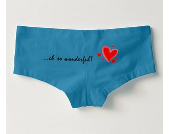 SOLD OUT!!  Love My Heart Series Boyshorts #5