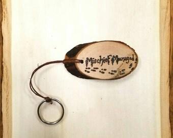 Harry Potter Keychain Mischief Managed