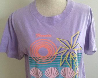 Vintage 80s Florida Tshirt