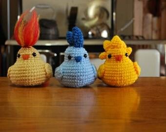 Crochet Chibi Legendary Pokemon