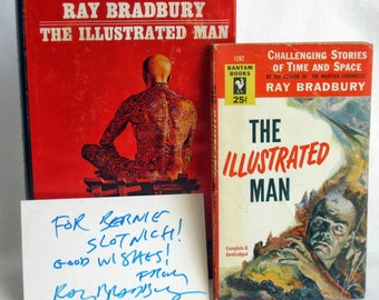 The Illustrated Man, Ray Bradbury with Autograph