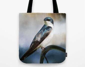 Tree Swallow Photo Tote Bag, Photo Tote, Tote Bag, Photography, Travel Tote, Bird Tote Bag