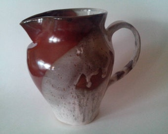 Drip Glaze Pitcher