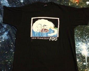 Vintage San Francisco FOG Cat T-Shirt