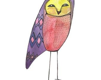 Joyce the Owl