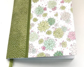 Women/Girls/Altered Composition Notebook for Her/Spring Notebooks/Travelers Notebook/Gratitude Journal/Writing Journal/Mother's Day Gift