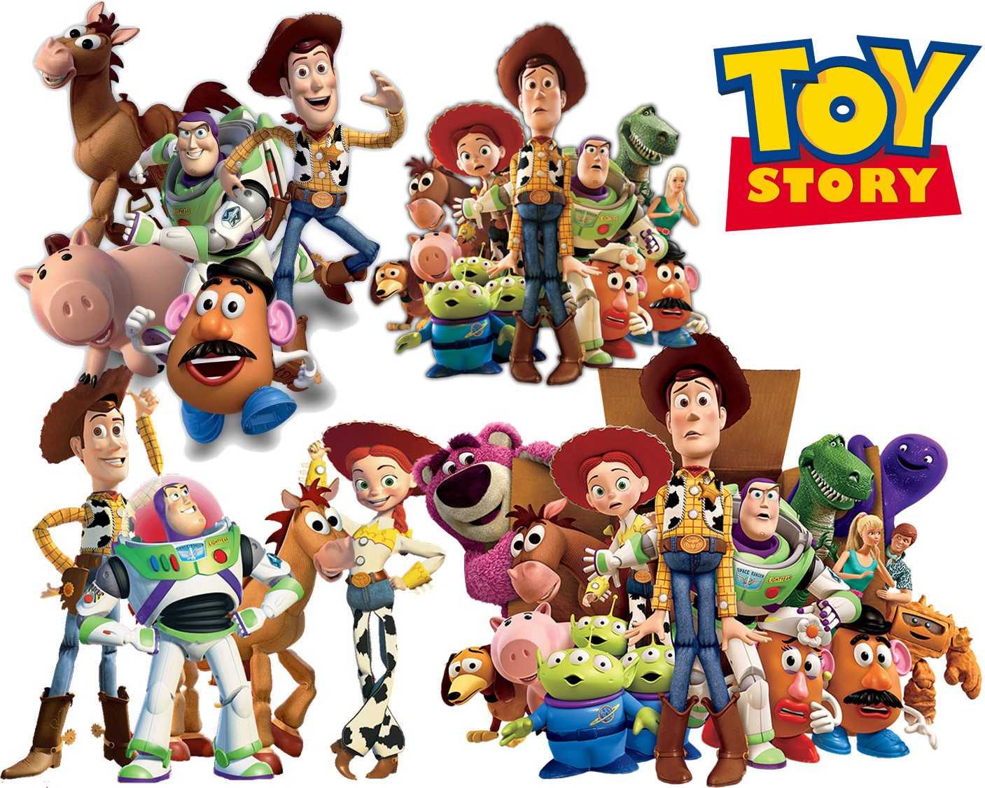 Best Toy Story Toys : Best collection of toy story clipart high quality