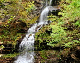 Cathedral Falls, Gauley River, West Virginia, fine art photography