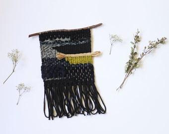 mini tissage noir, gris, marine, limette avec paille