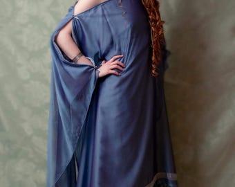 Dress blue inspiration Rome Greece antiquity