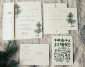 Custom Wedding Invitations for Amanda