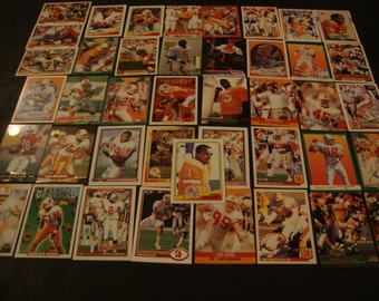 SALE - Vintage Team Lot of Tampa Bay Buccaneers Greats Football Cards -All Diff -Card Lot -NFL -Cobb, Carrier, Testaverde, Curry, etc - Bucs