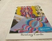 Sewing Card paper Quilt Pattern for Blossom by Valori Wells For Stichin Post  Publications
