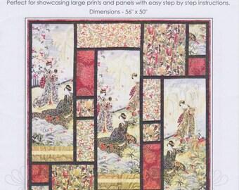 Southern Jewels, Leesa Chandler Designs, DIY Pattern for Large Prints or Panels