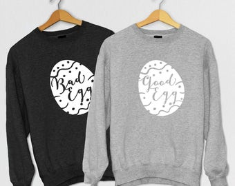 Good / Bad Egg Sweatshirt - Easter Jumper