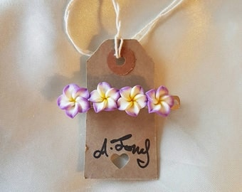 Tropical Flower Hawaiian Hair Clip Barrette