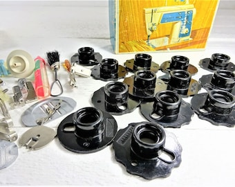 Vintage Singer Touch and Sew 638 Sewing Machine Attachments