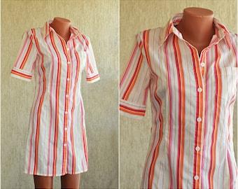 Vintage COTTON Sundress, size S-M, ON SALE