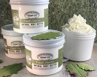Fresh Herbs Body Butter