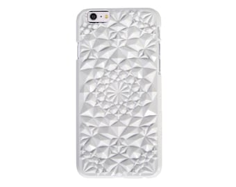 Gloss White Kaleidoscope Case for iPhone 6/6s Plus Gloss White iPhone 6/6s Plus case (6PKS-GW)