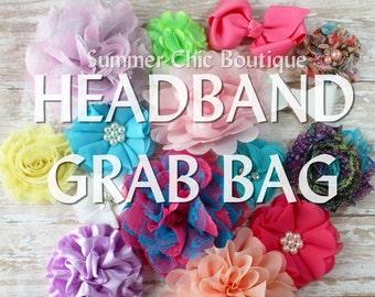 Grab Bag - Set of 5 Headbands for only 10.75