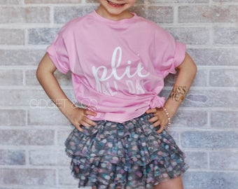 Plie All Day Tee