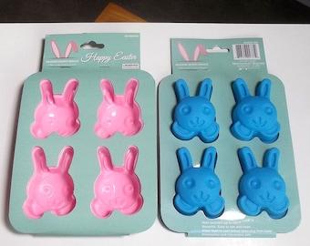 Bunny Mold - Easter Bunny Mold, Bunny Party Favors, Easter Mold, Silicone Bunny Mold, Soap Mold, Rabbit Mold