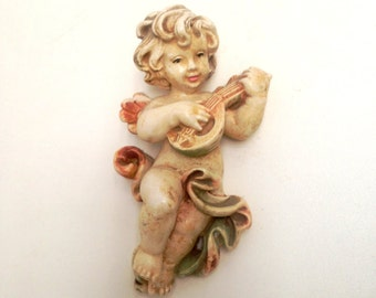 china cherub wall hanging decor angel