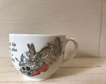 Vintage Wedgwood Peter Rabbit Teacup