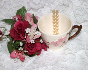 Vintage Metlox Poppy Trail Peach Blossom - Cup - Excellent Condition - Made in California - 1952 to 1962