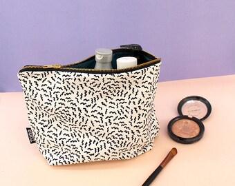 Buzzed Pattern Toiletry Bag - Cosmetics Bag - Travel Bag