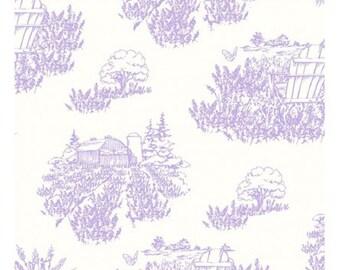 LOVELY LAVENDER designed by Barb Tourtillotte for Clothworks - bty - Y2128-26