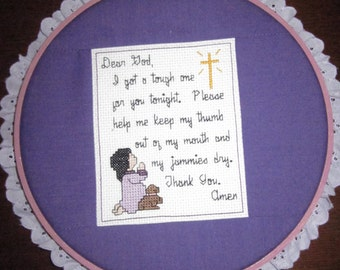 Bedtime Prayers-Purple