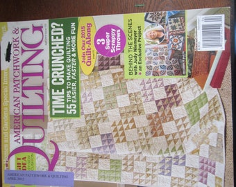 Amerian Patchwork & Quilting April 2015