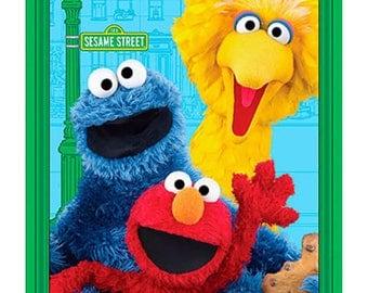 Sesame Street quilt -  cotton