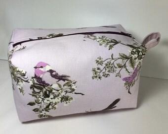 Large Boxed Make Up Bag/Comestic Bag/Travel Bag/Gadget Bag/Large Pouch/Large Pencil Case/Large Wash Bag