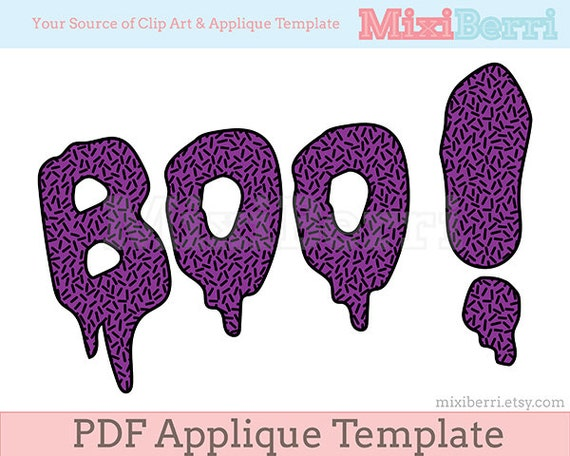 Boo halloween applique template pdf quote applique design instant boo halloween applique template pdf quote applique design instant download from mixiberri on etsy studio pronofoot35fo Gallery