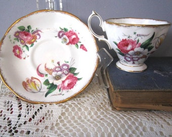 Royal Albert Lady ANGELA  Bone China Teacup and Saucer - Made in England