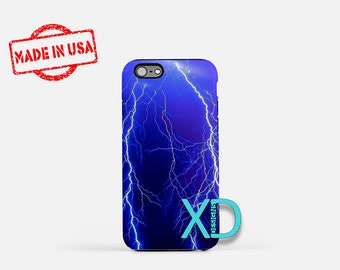 Lightening iPhone Case, Weather iPhone Case, Lightening iPhone 8 Case, iPhone 6s Case, iPhone 7 Case, Phone Case, iPhone X Case, SE Case