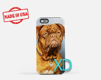 Dogue De Bordeaux iPhone Case, Dog iPhone Case, Dog iPhone 8 Case, iPhone 6s Case, iPhone 7 Case, Phone Case, iPhone X Case, SE Case